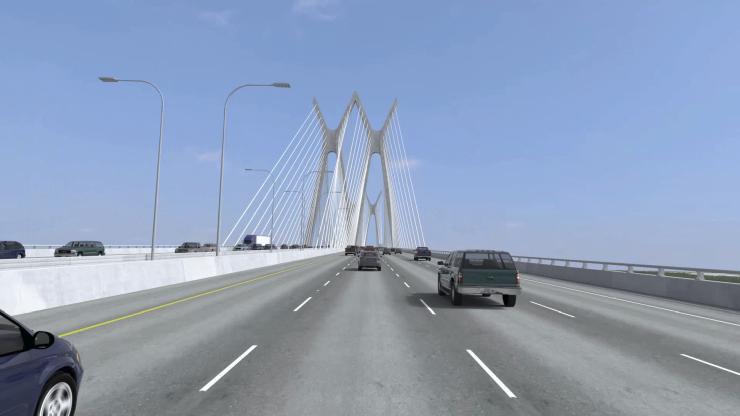 Sam Houston Tollway Bridge