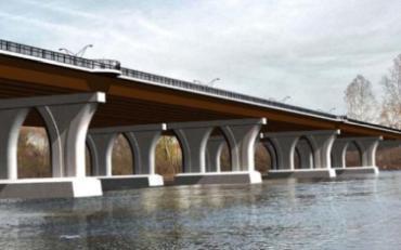 the new Scudder Falls Bridge