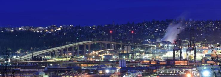 Seattle High-Rise Bridge