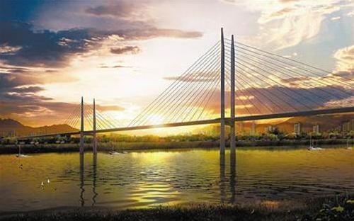 Shuitu Jialing River Bridge