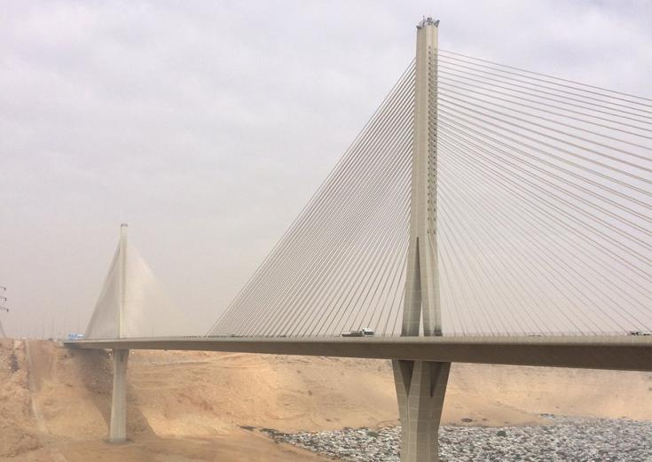 Stantec - bridge inspections in Saudi Arabia