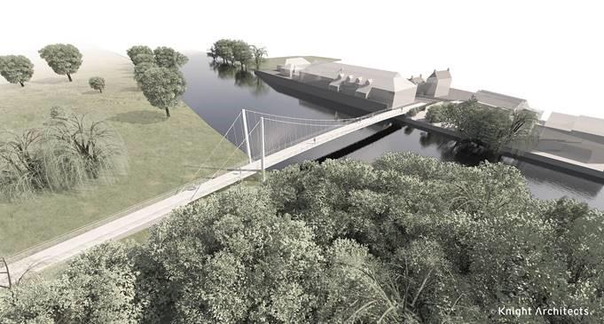St Neots footbridge - Knight Architects