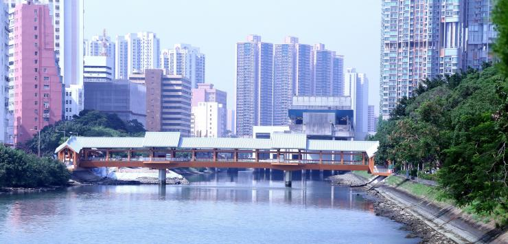 Tuen Mun footbridge