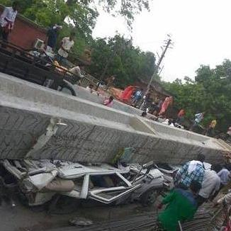 Varanasi flyover collapse - NDRF
