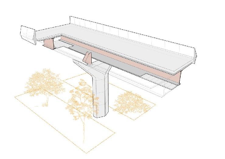 Wendover Dean Viaduct - cutaway